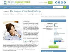 The Keepers of the Gate Challenge Lesson Plan