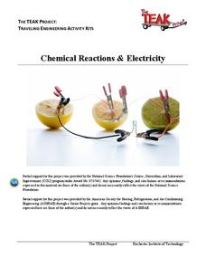 Chemical Reactions and Electricity Lesson Plan