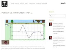 Position vs Time Graph - Part 2 Video