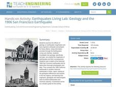 Earthquakes Living Lab: Geology and the 1906 San Francisco Earthquake Activities & Project