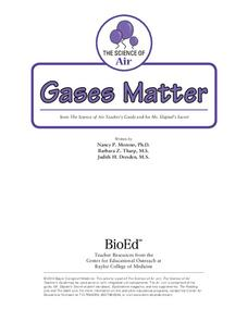 Gases Matter Activities & Project