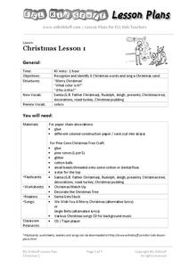 Christmas Lesson 1 Lesson Plan