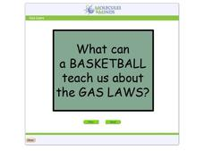 Gas Laws: What Can a Basketball Teach us About the Gas Laws? Interactive