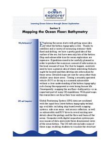 Mapping the Ocean Floor: Bathymetry Lesson Plan