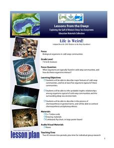 Deep-Sea Ecosystems – Life is Weird! Lesson Plan