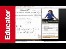 Differential Equations and Initial Value Problems Video