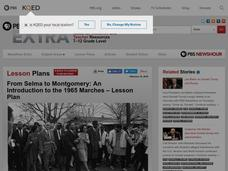 From Selma to Montgomery: An Introduction to the 1965 Marches Lesson Plan