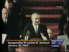 President Johnson 1965 Inaugural Address Video