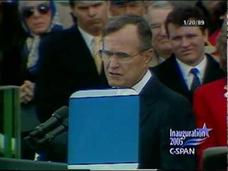 President George H. W. Bush 1989 Inaugural Address Video