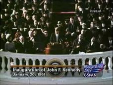 President Kennedy 1961 Inaugural Address Video