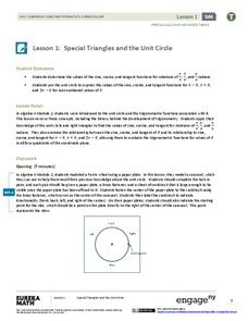 EngageNY Precalculus and Advanced Topics Module 4: Trigonometry