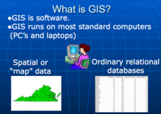 Applications of GIS Presentation