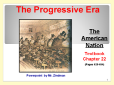 The Progressive Era: The American Nation Presentation