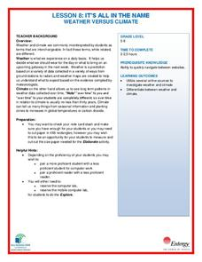 Weather and Climate Lesson Plans & Worksheets Reviewed by ...