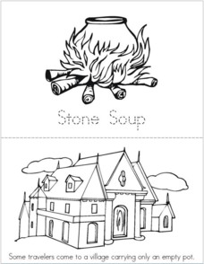 Stone Soup Book Printables & Template for Kindergarten