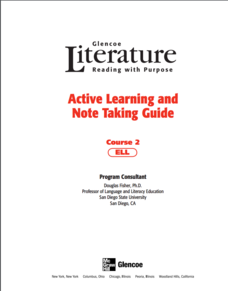 Active Learning and Note Taking Guide Graphic Organizer