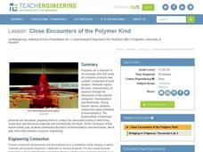 Close Encounters of the Polymer Kind Lesson Plan