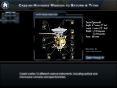 Explore Saturn and Titan with Spectral Data Interactive