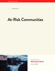 At-Risk Communities Lesson Plan
