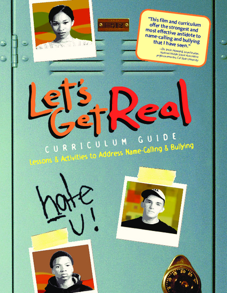 Let's Get Real Curriculum Guide Unit