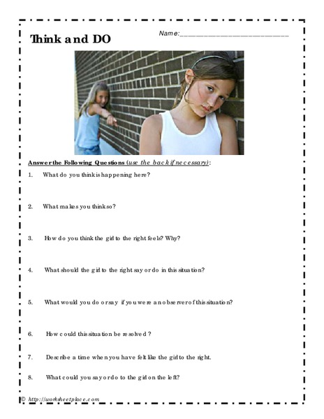 Think and DO Worksheet