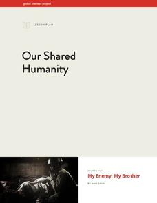 Our Shared Humanity Lesson Plan