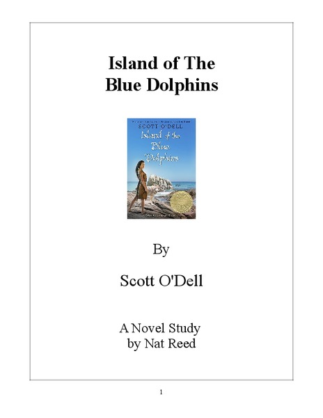 Island of the Blue Dolphins: A Novel Study Graphic Organizer
