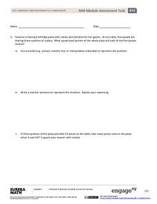 Mid-Module Assessment Task: Grade 6 Math Module 2 Assessment