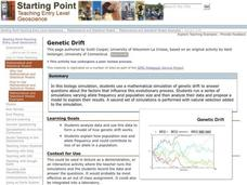 Genetic Drift Lesson Plan