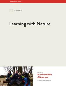 Learning with Nature Lesson Plan