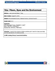 Fibers, Dyes, and the Environment Lesson Plan