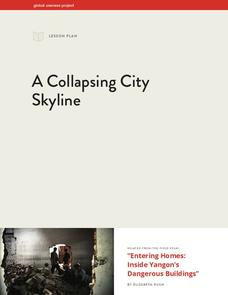 A Collapsing City Skyline Lesson Plan
