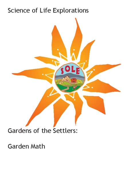 Garden Math Lesson Plan