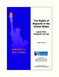 The Rights of Migrants in the United States Lesson Plan: Fleeing for Your Life Lesson Plan