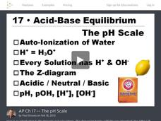 The pH Scale Video