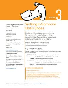 Walking in Someone Else's Shoes Lesson Plan