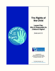 The Rights of the Child Lesson Plan