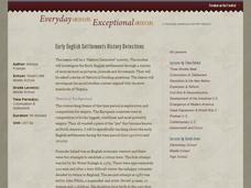 Early English Settlements History Detectives Lesson Plan