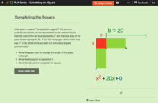 Completing the Square Interactive