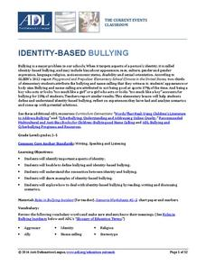 Identity-Based Bullying Lesson Plan