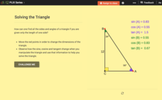 Pythagorean Theorem for Solving Right Triangles: Solving the Triangle Interactive