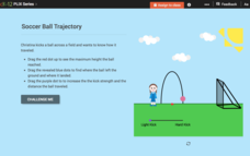 Quadratic Functions and Their Graphs: Soccer Ball Trajectory Interactive