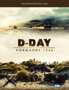 D-Day Normandy 1944 Worksheet