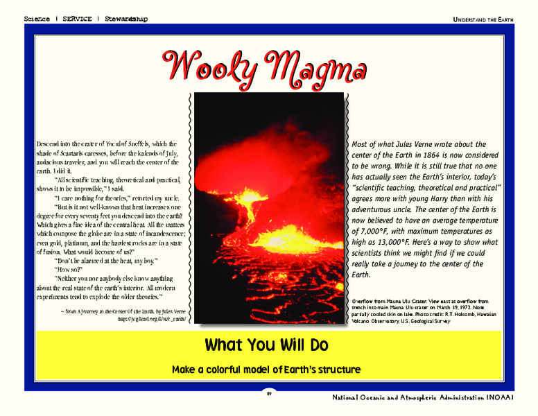 Wooly Magma Activities & Project