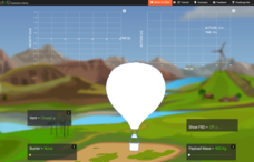 Hot Air Balloon Interactive