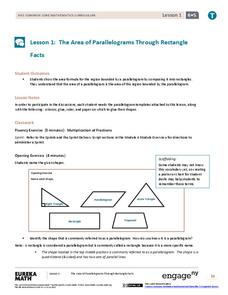 EngageNY Grade 6 Math Module 5: Area, Surface Area, and Volume Problems