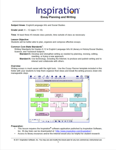 Essay Planning and Writing Lesson Plan