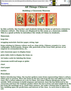 Chinese Cuisine Lesson Plans & Worksheets | Lesson Planet