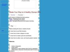 Skate Your Way to A Healthy Olympic Diet: Nutrition, Sports, Figure Skating, Math, Health Lesson Plan