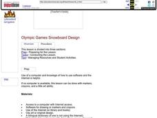 Olympic Games Snowboard Design Lesson Plan